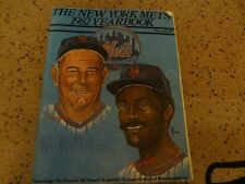 NY Mets Yearbook-various