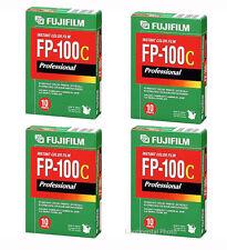 40 Exposure Fuji FP-100C Instant Color Film 4 Packs Fujifilm FP100C