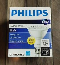 Phillips Warm White LED Flood PAR30L 11W Dimmable Energy Saver - FREE SHIPPING!!