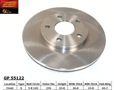 Disc Brake Rotor-Rear Drum Front Best Brake GP55122 fits 06-07 Chevrolet HHR