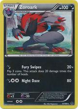 Zoroark Holo Rare Pokemon Card BW2 Emerging Powers 67/98