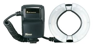 Nissin MF18 Macro Ring Flash for Sony Nikon and Canon Fits