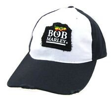 Bob Marley Patch Logo Distressed Blue Baseball Hat Cap New Official Merch