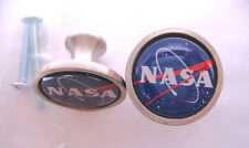 NASA Cabinet Knobs, NASA Space Program Logo Knobs, NASA Cabinet Knobs