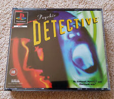 psychic detective PS1 / boitier c.neuf / complet . fr / très rare