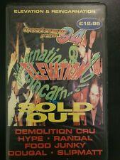 Elevation & Reincarnation united for 94 happy hardcore rave tape pack