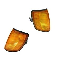 Turn Signal Light Assy L And R Corner Blinker Lamp Lens Kit Fits: Mercedes W124