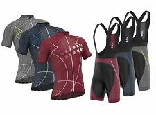 FDX Classic II Mens Cycling Jersey Bicycle Shorts Padded Bib Shorts Racing Kit
