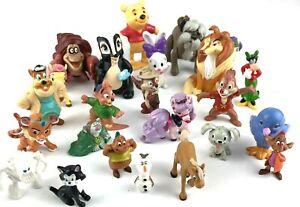 Random Mixed Lot of Disney PVC & Plastic Figures Toy Characters Vintage & Modern