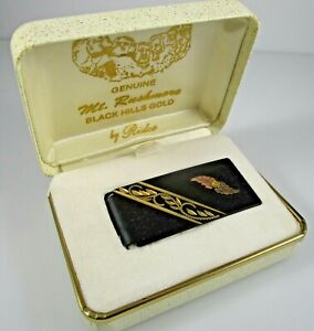 Black Hills MIB MOney Clip by Ridco 10K Vintage