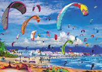 "PUZZLE 1000 PIEZAS EDUCA 17693 ""KITESURFING"" Educa KiteSurfing Puzzle 1000 Pezzi"