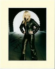 BONNIE TYLER PP MOUNTED 8X10 SIGNED AUTOGRAPH PHOTO