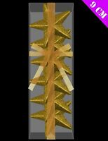 6 Christmas Party Gold Glitter 3D Hanging Stars Tree Decorations Ornament Xmas