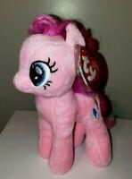 Ty Beanie Baby - PINKIE PIE (My Little Pony - 7 Inch) NEW - MINT with MINT TAGS
