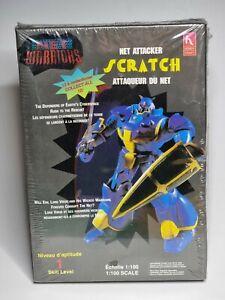 Net Warriors HOBBY CRAFT Net Attacker SCRATCH Plastic Model Kit 1:100 Scale New