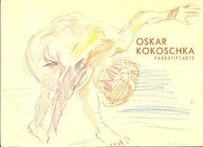 KOKOSCHKA - Breicha Otto, Oskar Kokoschka Farbstiftakte