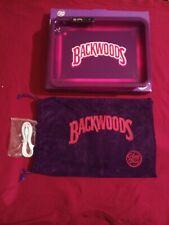 Purple Backwood Glow Tray Led Rolling Tray 6 Changeble light colors 💥