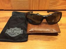 Harley-Davidson Wiley-X CE Caravan Wrap Frame Sunglasses w/ Bag - Ladies BLING