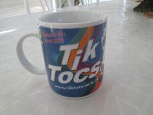 Tik Tocs Promo Coffee Mug Collectable -Like New