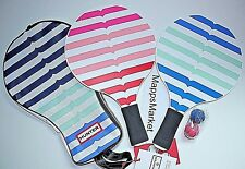 Nwt Authentic Hunter for Target Racquet Game Paddle Ball Set & Carrying Bag 5Pcs