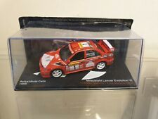 ixo / altaya - 1999 MITSUBISHI LANCER EVO VI - MAKKINEN - 1/43 SCALE MODEL CAR