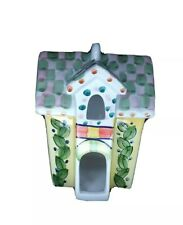 Bird House Small Talavera Mexican Ceramic Pottery Hanging Planter Various Colors
