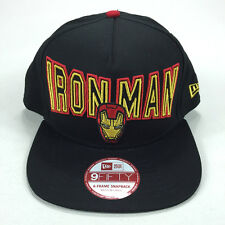 New Era 9 fifty 9/50 Official Ironman MarvelComic Brand New Snapback cap