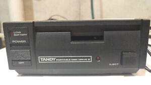TRS-80 Model 100/102/200 TPDD2, includes P/S, cable and disks - WORKING
