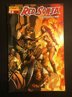 RED SONJA 2 VARIANT RUBI BAM VF/NM+ QUEEN VOLUME 5 CONAN COVER E SACRED SIX