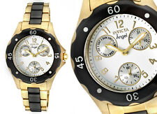 Invicta Women's Angel Watch BLACK & GOLD...$1195 Retail Value...With Gift Box