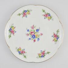 Zeh Scherzer Bavaria Germany - US-Zone - Porzellan Teller - Blumendekor - floral