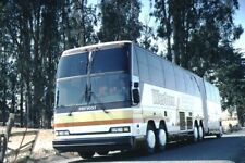 Western Charter Tours Prevost bus Kodachrome original Kodak slide