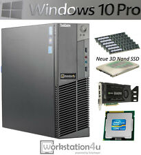Lenovo PC ThinkCentre M92p SFF Intel Core i5-3470 4x 3,2GHz 8GB SSD 256GB Win10