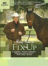 Monty Roberts Fix~Up Horsemanship Training 3 Dvd Set