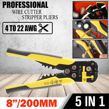 Multifunctional 3in1 Automatic Electric Cable Wire Stripper Cutter Crimper Plier
