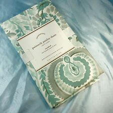 One Pottery Barn Painterly Paisley Sham Couvre Oreiller Pillowcase Standard  NWT