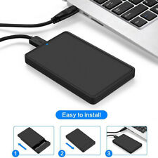 "Hard Disk USB 3.0 SATA Box Case Enclosure Drive External to 2.5"" Inch HDD Hard"