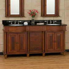 Cherry Double Bathroom Vanities | EBay