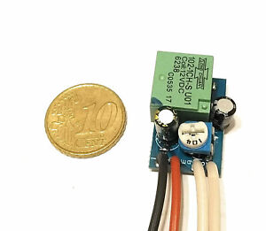 MINI SMD TIMER SWITCH TIME RELAY 1 TO 13 SEC KIT 10A Delay Off Switch 12V