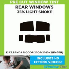 FIAT PANDA 5-DOOR 2006-2010 (2ND GEN) 35% LIGHT REAR PRE CUT WINDOW TINT