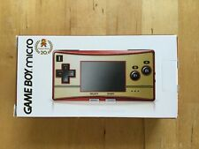 Gameboy micro Limited Edition 20th ANNIVERSARIO FAMICOM