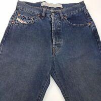 Diesel CHEYENNE Mens Vintage Jeans W30 L32 Dark Blue Regular Straight High Rise