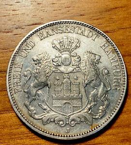 5 Mark Hamburg 1902 Deutsches Reich J. 65