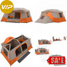 Camping Tent Instant Pop Up Cabin With Private Room (Ozark Trail 11 Person) New
