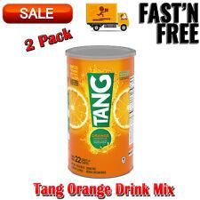 2 Pack Tang Orange Drink Mix, 72 Ounce, Good Source of Calcium, Vitanmin C Pantr