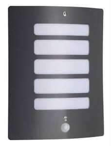 BRILLIANT Lampe Todd Außenwandleuchte Bewegungsmelder anthrazit | 1x A60, E27, 6