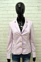 Giacca Blazer Donna TRUSSARDI Jacket Woman Taglia M Giubbino Giubbotto Cotone