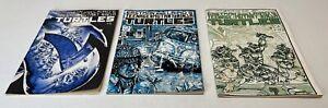 Teenage Mutant Ninja Turtles Comic Lot (POOR CONDITION - READERS COPIES) 2,3,4