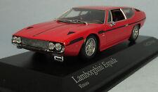 MINICHAMPS 1970 Lamborghini Espada (Red) 1/43 Scale Diecast Model NEW, RARE!