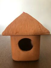 BEST BIRD HOUSE POTTERY NEW HANDMADE NATURAL TEMPERATURE EASY USE AND INSTALL